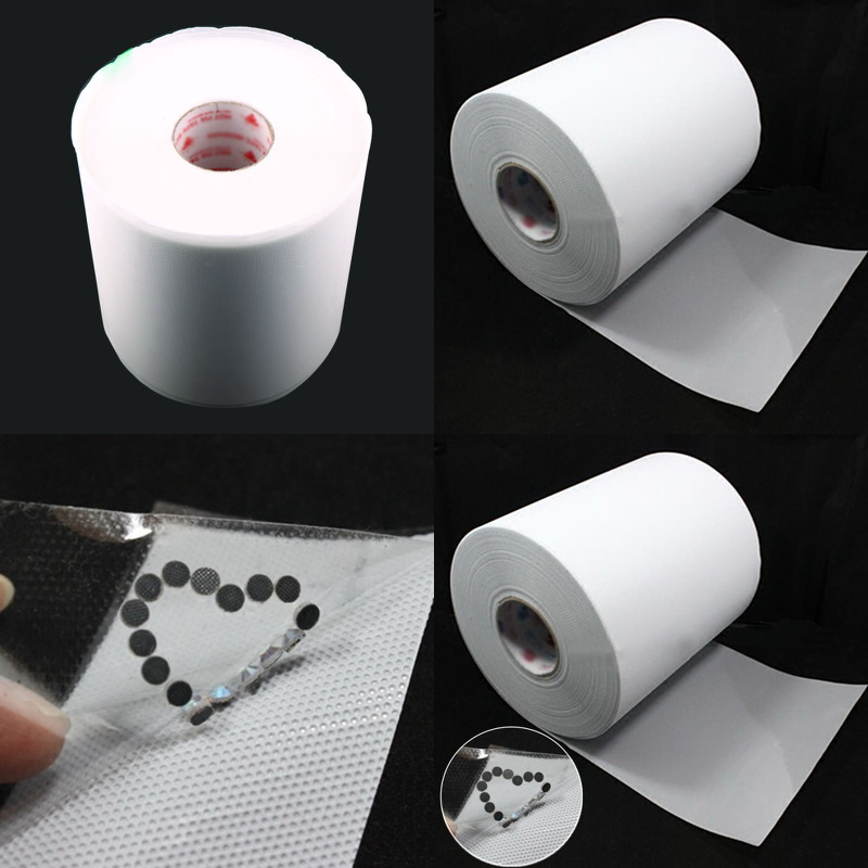 24cm Width 10m Hot Fix Rhinestone Paper Heat Transfer Mylar Tape Iron On Crystal  Film Paper 29930ed7f8f1
