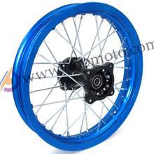 Задние 14 дюймов Алюминиевый Сплав Диск Пластина Колесные Диски 1.85×14 дюймов для dirt bike велосипед ямы CRF KTM Аполлон кайо БФБ