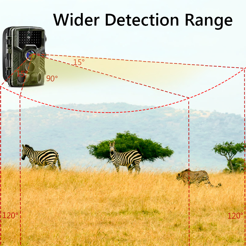Image 4 - Goujxcy Trail Camera HC800A IP65 Waterproof forest Hunting Camera Night Vision Infrared LED Wildlife Camera Photo Traps scouts-in Hunting Cameras from Sports & Entertainment