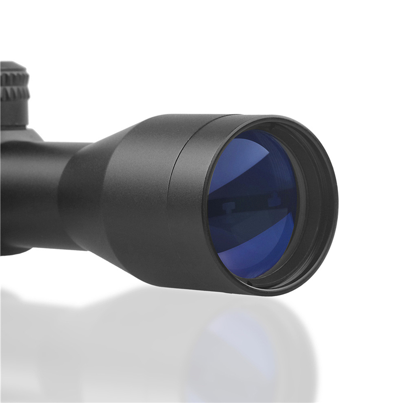 Image 5 - DDartsGO Free shipping Hunting Tactical 4X32 Rifle Optics Sniper Scope Mil Dot Illuminated Reticle One piece Tube Sight-in Riflescopes from Sports & Entertainment