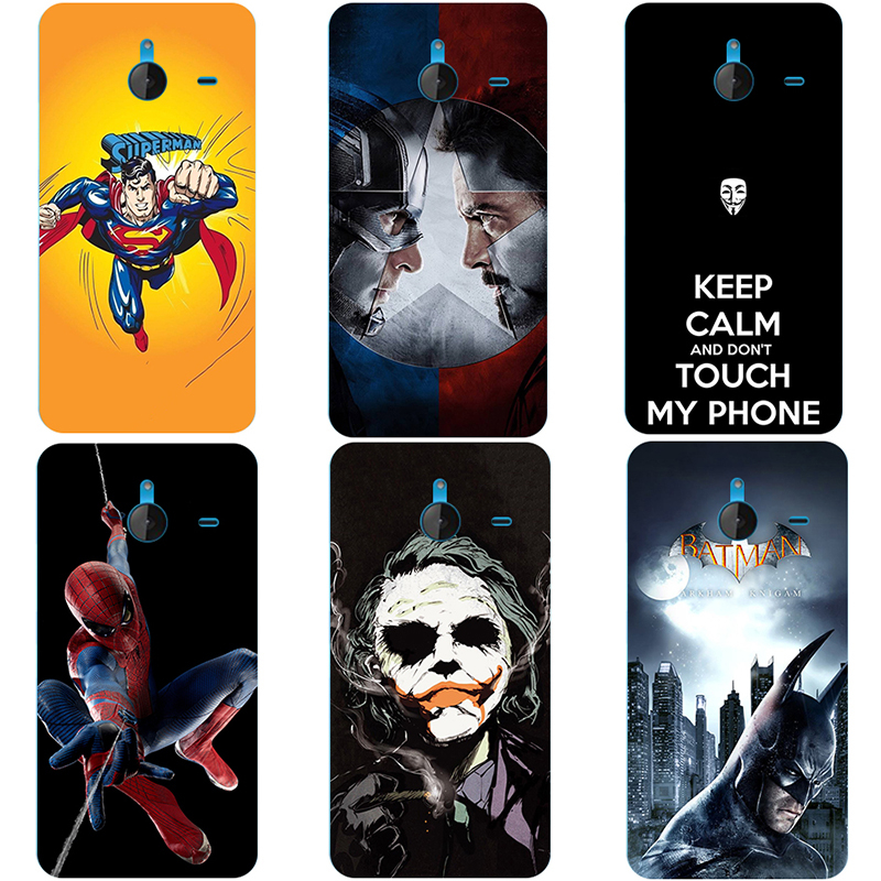 2018 World Cup Phone Case for Microsoft Nokia Lumia 640XL 640 XL 950XL Soft TPU Cover for Nokia 3310 / 3310 2017 Super Hero Capa image