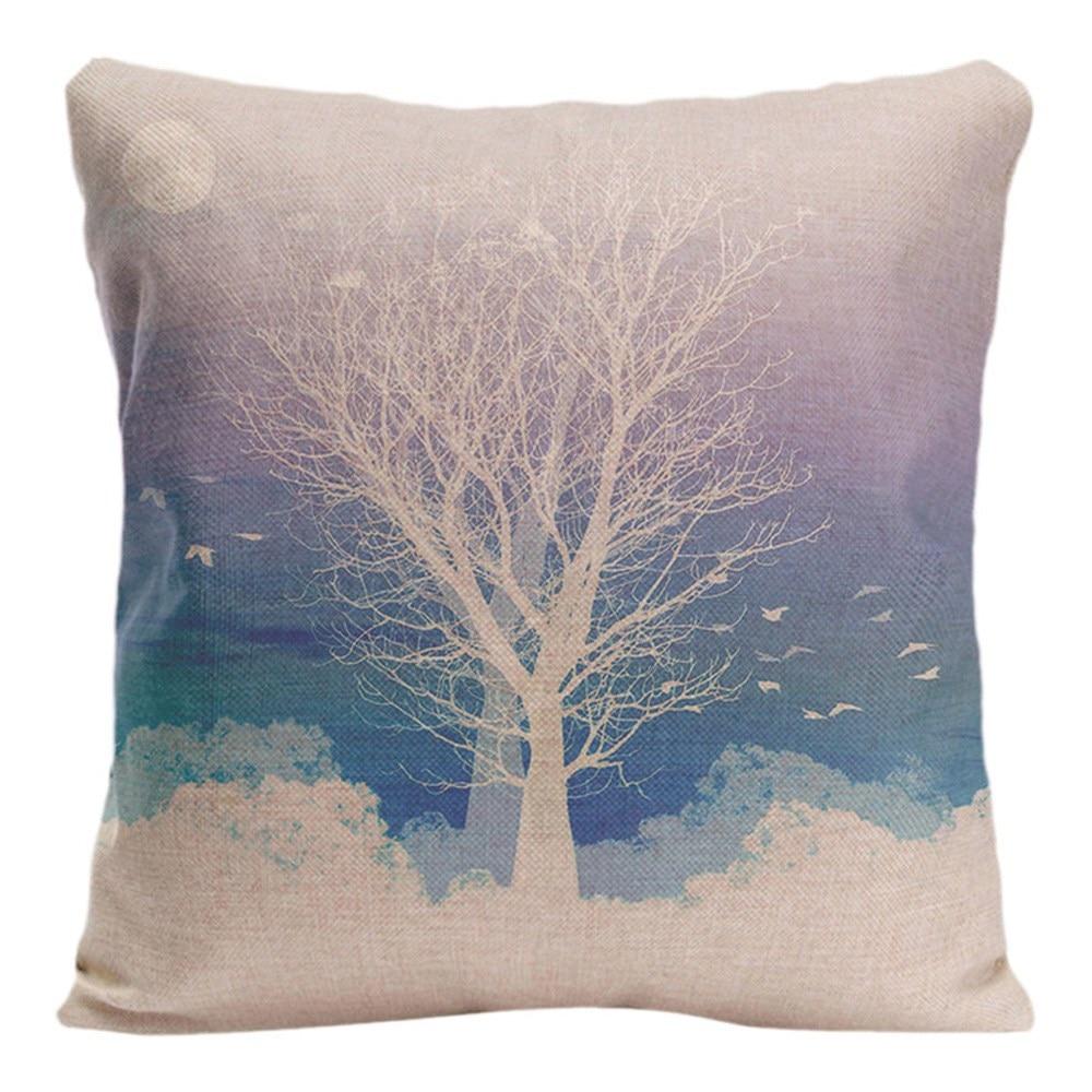 Naturlig landskap Kuddeöverdrag Dekorativa kuddar för soffa - Hemtextil - Foto 1
