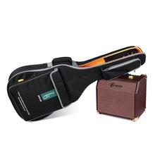 40 inch 41 inch waterproof guitar bag, high-grade waterproof canvas folk guitar cases, practical guitar backpack
