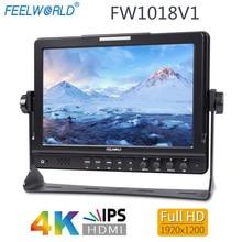 "Feelworld FW1018V1 10.1""IPS 4K HDMI Camera Field Monitor Full HD 1920x1200 LCD Monitor for DSLR Video Movie Shooting Stablizer"