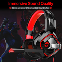 JOINRUN A66 PS4 Gaming Headset Casque Wired 4D Stereo Earphones Headphones with Microphone for New Xbox One/Laptop Tablet Gamer