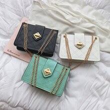Womens Plaid Shoulder Bag Chain Messenger Big Designer Classic Fashion Handbag PU Leather