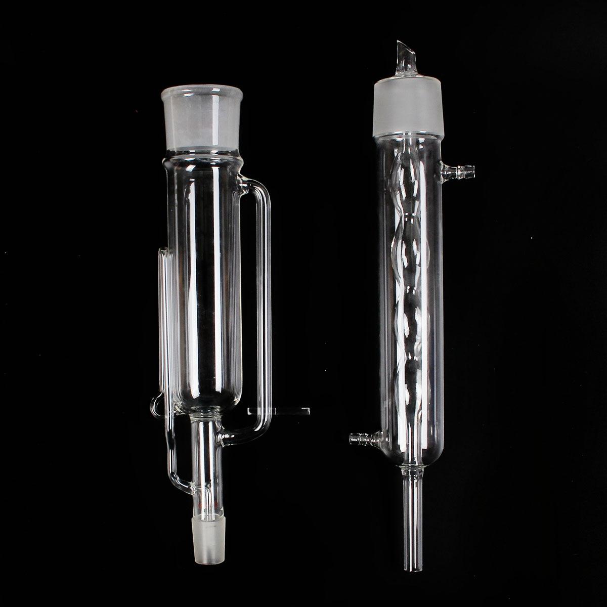 500 ml 24/29 Verre Soxhlet Extracteur Allihn Condenseur Corps Kit de Verrerie de Laboratoire Verrerie Ensemble Fournitures Transparent