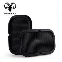 Автомобильный силиконовый Противоскользящий коврик для мобильного телефона MP3 gps держатель для солнцезащитных очков кронштейн нескользящий липкий коврик для автомобиля Стайлинг автомобиля нескользящий коврик