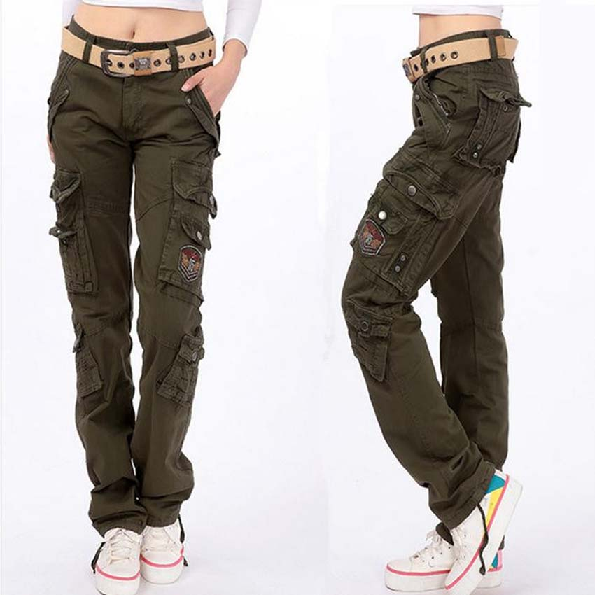 Online Buy Wholesale women cargo pants from China women cargo ...