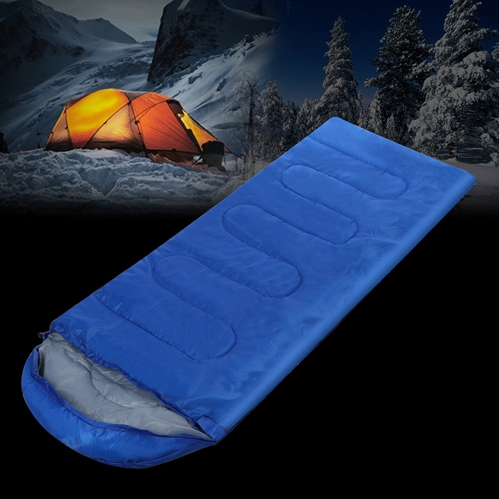 Camping & Hiking Camp Sleeping Gear Hearty Outdoor Camping Adult Sleeping Bag Waterproof Keep Warm Thre Seasons Spring Summer Sleeping Bag For Camping Travel High Safety