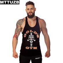MTTUZB Men health bodybuilding tan high males's informal tops male undershirt multicolor summer time fashion