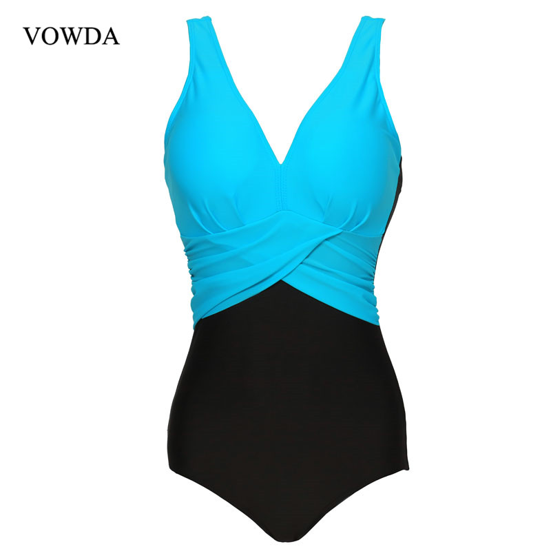 2017 Newest One Piece Swimsuit Plus Size V Net Swimwear Women Swimwear Bathing Suits Monokini Swimsuit plus size scalloped backless one piece swimsuit
