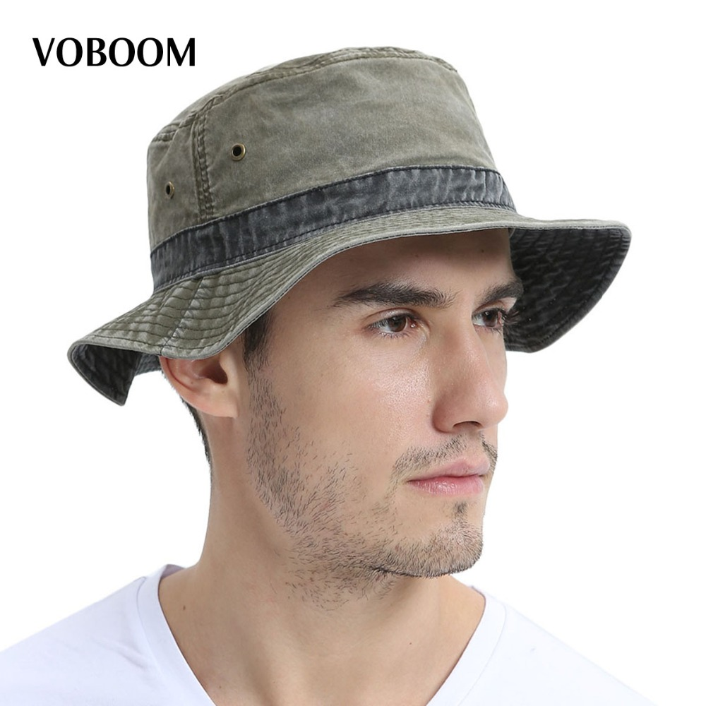 cb3462d928c28 Detail Feedback Questions about VOBOOM Summer Bucket Hats Men Fishing Hat  Light Cotton Panama Sun Protection Male Cap Hiking Sombrero Wide Brim Caps  139 on ...