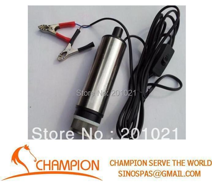 12 V DC pompes petite pompe à huile Diesel submersible, s'applique à: eau de carburant diesel