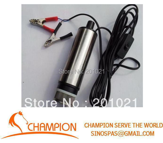 12V DC pumps small submersible Diesel oil pump,Applies to: diesel fuel water 51mm dc 12v water oil diesel fuel transfer pump submersible pump scar camping fishing submersible switch stainless steel