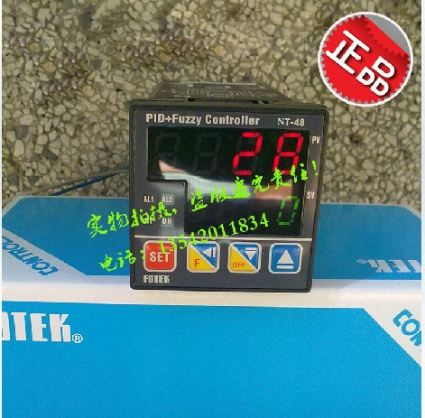цена на Taiwan's Yangming Original Genuine Genuine Taiwan's Yangming thermostat FOTEK NT48-R temperature controller