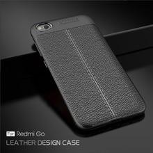 Cover For Xiaomi Redmi Go Case Luxury Rubber Soft Silicone Phone Back Fundas