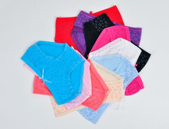 2013 Newest Arrived Most Pop Style Free Shipping Stretch Cotton Woman Panties Hollow out Underwear
