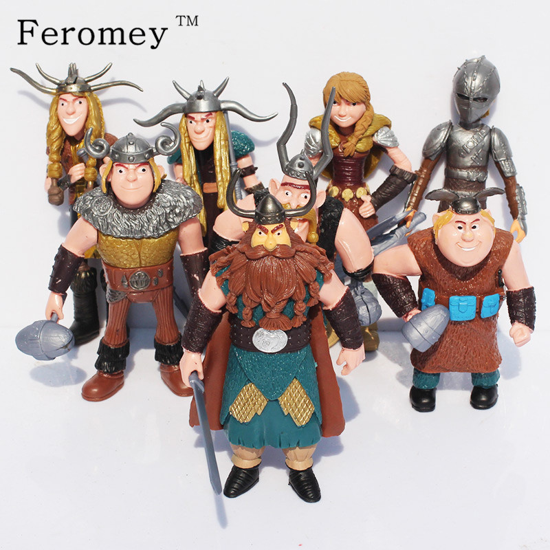 Hot How To Train Your Dragon Action Toys Night Fury Toothless How To Train Your Dragon Anime Figures Toys Children Boys Gift 12pcs set children kids toys gift mini figures toys little pet animal cat dog lps action figures