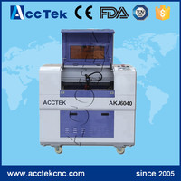 6040 9060 60w 80w co2 acrylic leather wood glass crystal laser cutter 3D mini laser engraving machine price