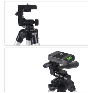 Image 2 - Универсальный Портативный штатив для цифровой камеры, видеокамеры, штатив, подставка, кронштейн для фонарь, легкий алюминиевый для Canon, Nikon, Sony, EM88
