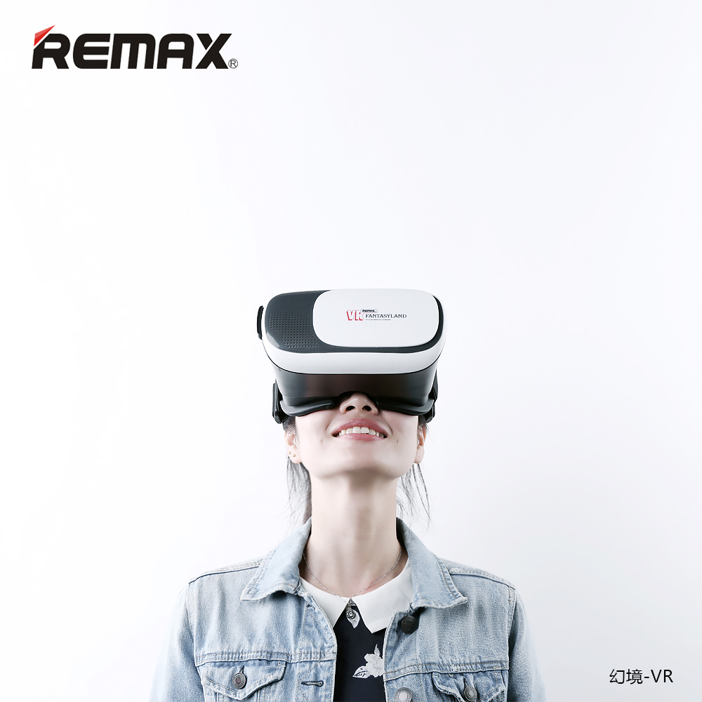 bb5bcf370f0 New Promotion Remax Virtual Reality IMAX 3D VR Box Polarized Glasses For  4.7~6inch Smart Phone Black Color Gift Box Package-in 3D Glasses  Virtual  Reality ...