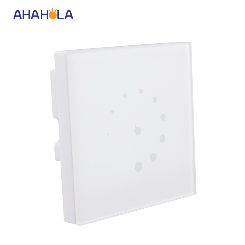touch switch wall mounted led dimmer 12v 24v 8a for single color 3528 5050 strip light output 1 channel brightness adjustable dc12v 24v wall type touch brightness led panel dimmer for 3528 5050 2835 single color led strip tape led module free shipping
