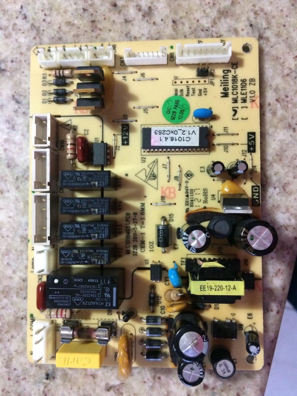100% Nuovo frigorifero circuit board/MLC1018-CE/MEL1106 invece100% Nuovo frigorifero circuit board/MLC1018-CE/MEL1106 invece