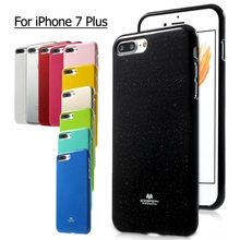 Фотография For iPhone7Plus MERCURY GOOSPERY Flash Powder Jelly TPU Case for iPhone 7 Plus 5.5