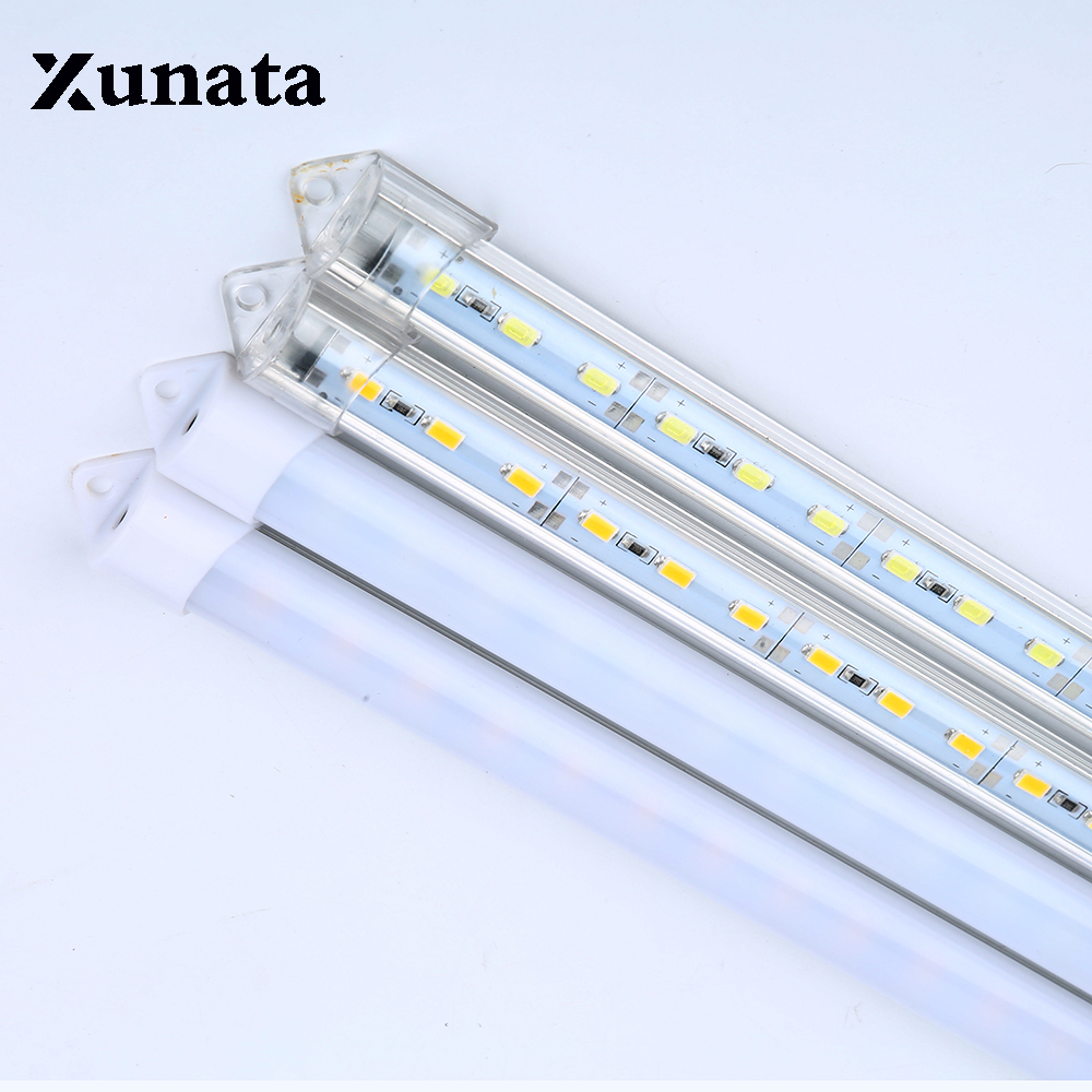 5* 0.5m DC 12V 36pcs * SMD 5630 LED Strip Led Bar Light Tube Waterproof+ U Aluminium Profile + PC Cover Super Bright