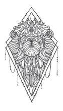 Lion De Tatouage Art Promotion Achetez Des Lion De Tatouage Art
