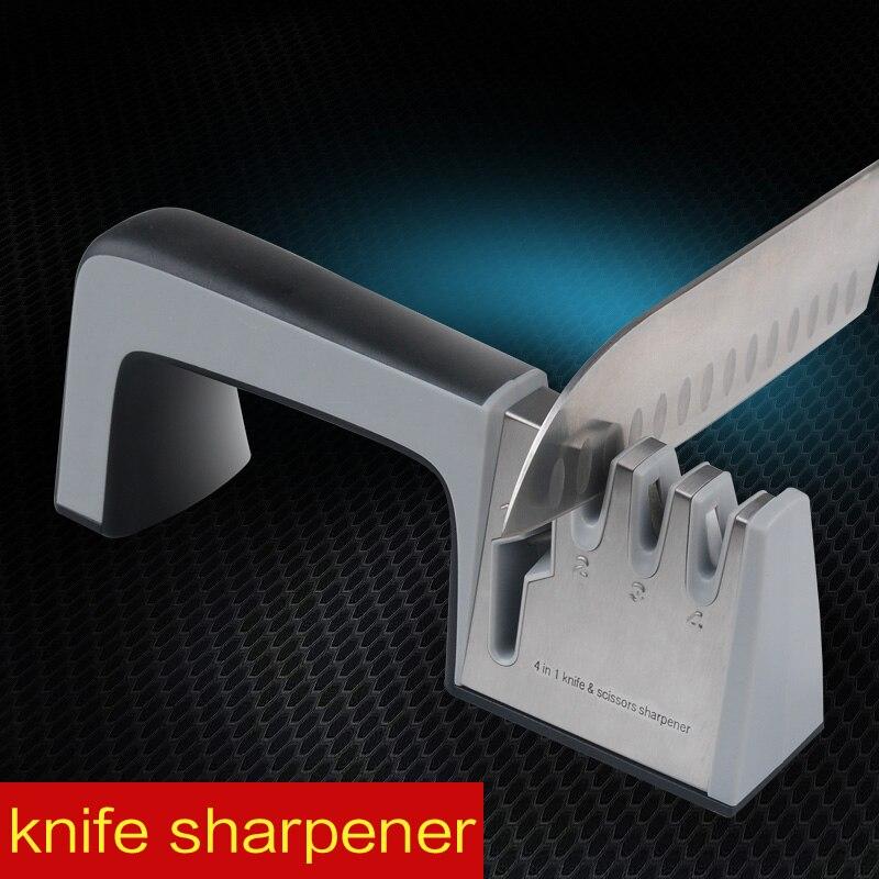 Aiguiseur Diamant cuisine Outils Couteau en acier inoxydable affûtage affûteur pour couteau ciseaux lapidation couteau slicker