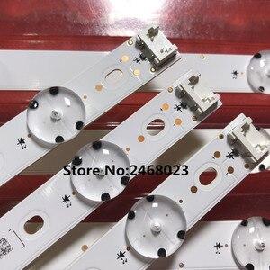 Image 4 - Nuova striscia LED 3 PCS 7LED 83cm per LG 43UK6300PLB 43UJ634V 43LJ61_FHD_L LC43490059A ininnotek 17Y 43inch A LC43490074A