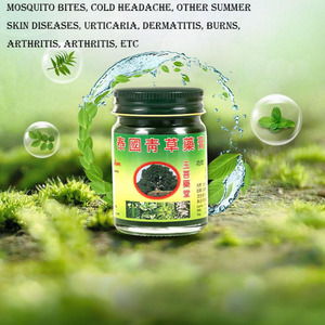 New 1PC 20g Tiger Thai Herbal Balm Pain Ointment Refresh Oneself Influenza Cold Headache Dizziness Summer Mosquito