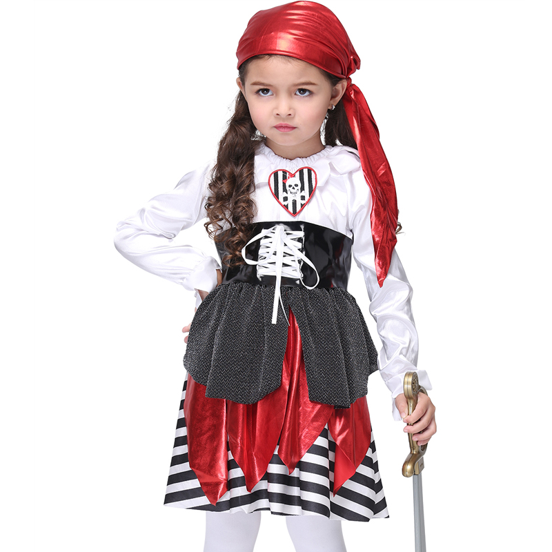 Pirate Costume Halloween Costume For Girls Cosplay Performance Dance Show Party Dress Costumes Girls Clothing Children Dresses superhero halloween costume for girls cosplay performance dance show fancy costumes girls clothing children suit dress for girl