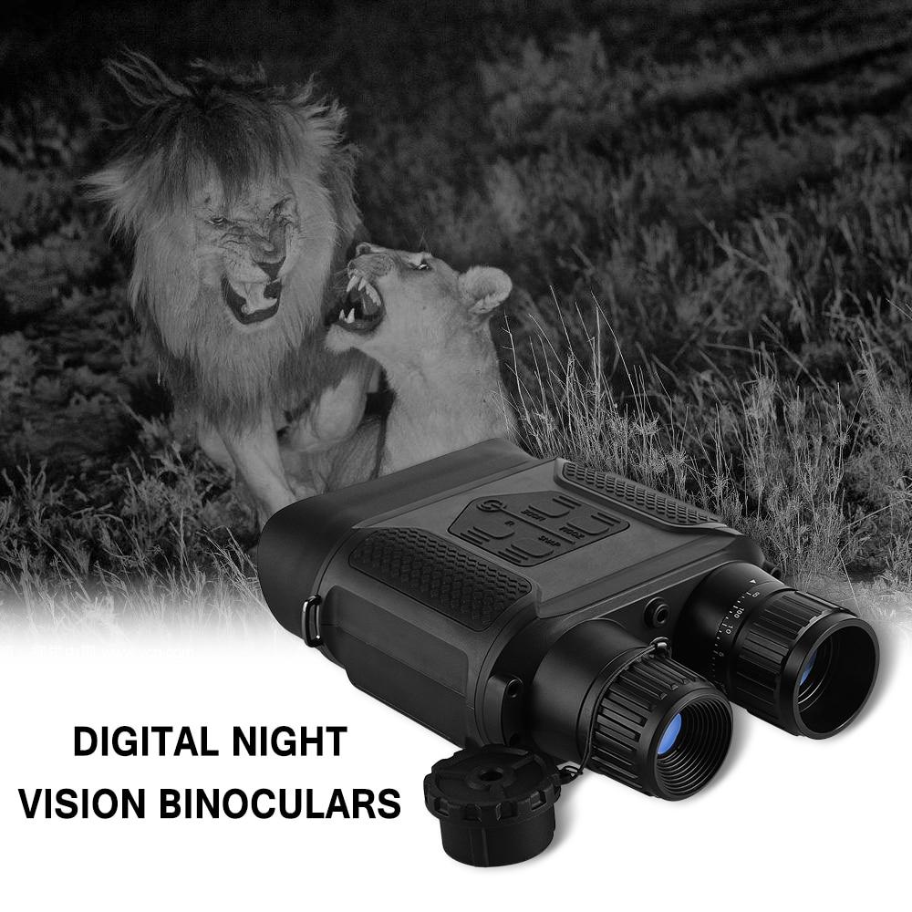 7x31 Hunting Night Binocular Digital Infrared Scope Hunting Night Vision 400m 1300ft Range 2 LCD Screen