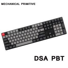 MP Dolch color DSA 145 клавиш PBT, радий Valture Keycap Cherry MX switch keycaps для проводной USB Механическая игровая клавиатура