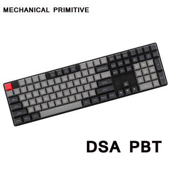 MP Dolch Color DSA 145 keys PBT, Radium Valture Keycap Cherry MX switch keycaps for Wired USB Mechanical Gaming keyboard image