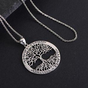 Image 5 - BALMORA 100% prawdziwe 925 Sterling Silver gorące drzewo życia okrągły mały wisiorek i naszyjnik Bijoux kobiety mężczyźni biżuteria spadek wysyłka