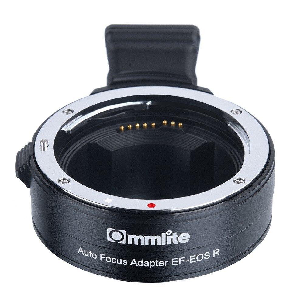 Adaptateur de monture d'objectif électronique Commlite AF de l'objectif Canon EF/EF-S à l'appareil photo plein cadre Canon EOS R RF - 4