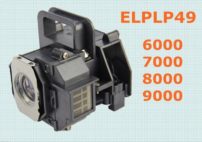 ELPLP49 E-TORL Lampe De Rechange D'origine pour Epson 6000/7000/8000/9000 Série Projecteurs
