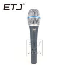 Beta 87A ETJ Marca de Alta Qualidade Clear Sound Handheld Com Fio Microfone de Karaokê