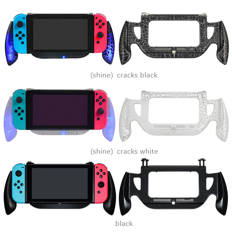 Nintend Switch Console Handle Grips Nintendos NS Games Hold Bracket Stand Wheel for Nintendo Switch