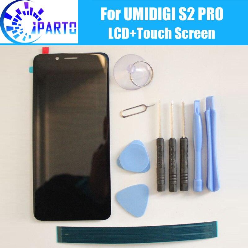 UMIDIGI S2 PRO pantalla LCD + pantalla táctil 100% Original LCD Panel de vidrio digitalizador reemplazo para UMIDIGI S2 PRO