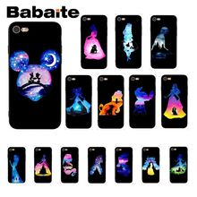 Babaite Princess Alice lion king Cover Black Soft Shell Phone Case for iPhone X XS MAX  6 6s 7 7plus 8 8Plus 5 5S SE XR