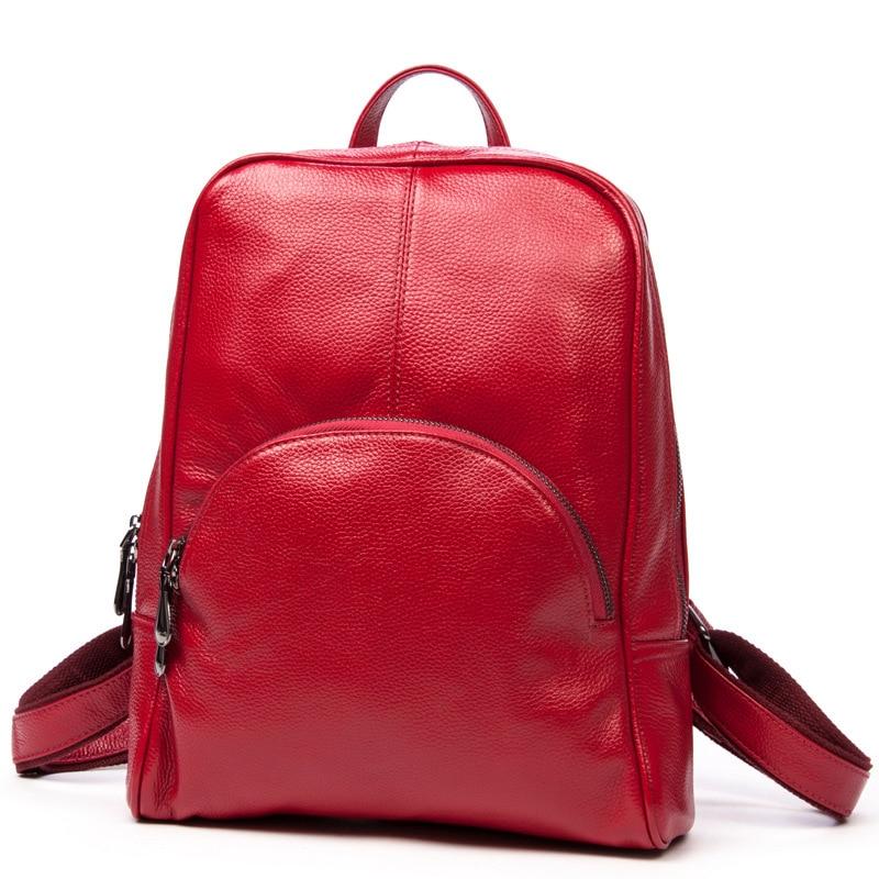 2016 New Real Cowhide Women Backpack Fashion Shopping Backpack Genuine Leather Bag Backpacks For Teenage Girls cowhide pack