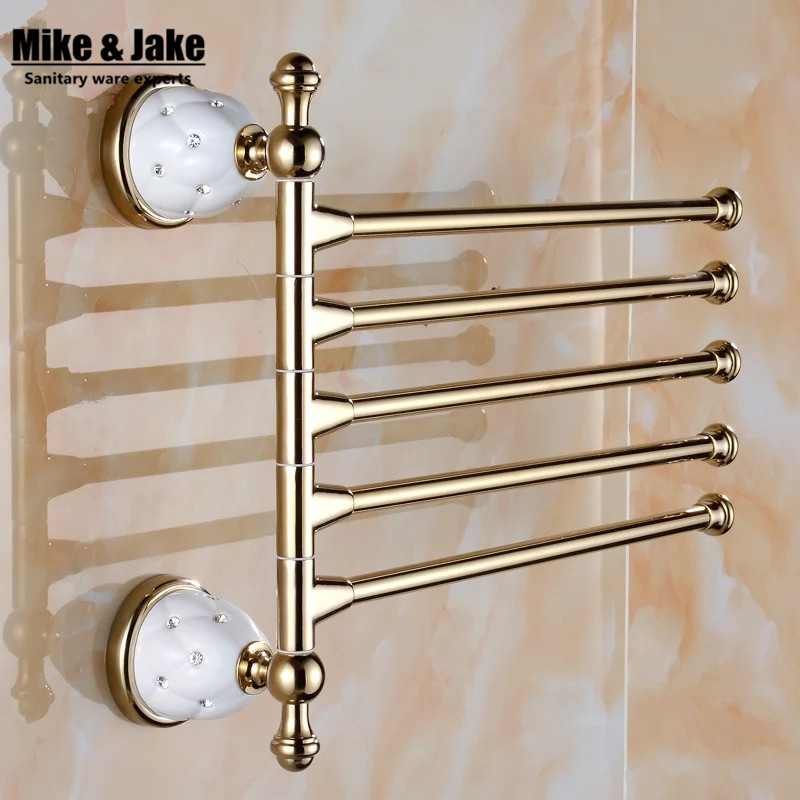 Crystal Bathroom Hardware: Crystal Bathroom Activity Towel Bar Towel Arms Wall