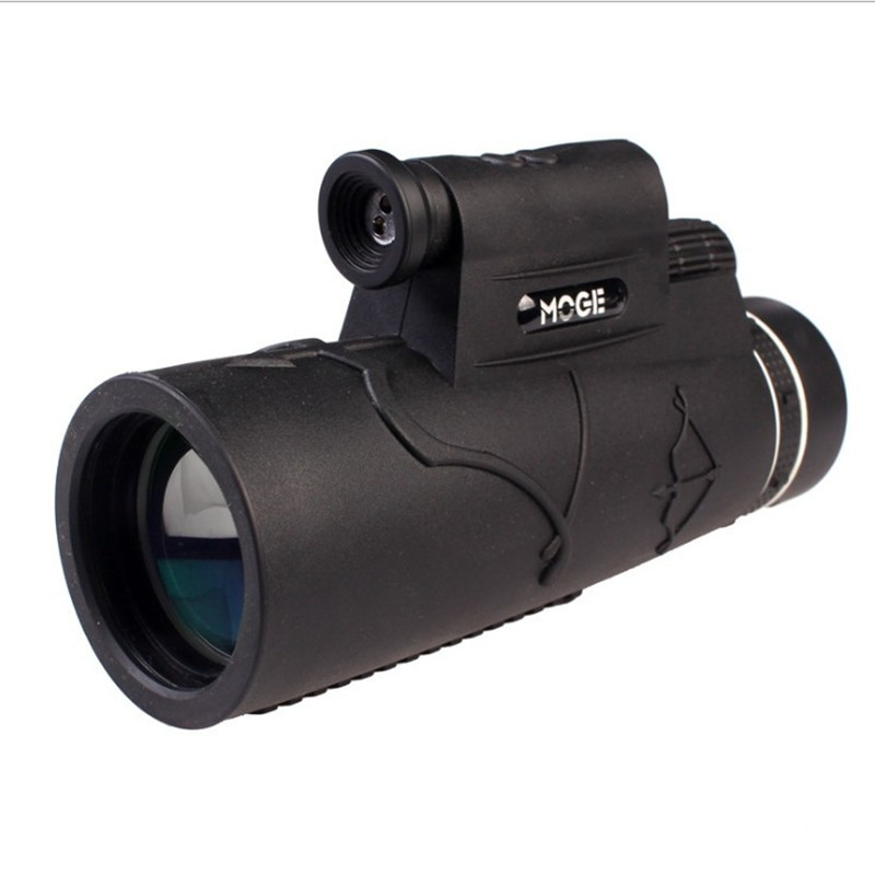 New Outdoor Monocular Powerful Phone Laser Floodlight Telescope with Tripod Clip for Hunting Monocular HD 12×50 Zoom Binocular