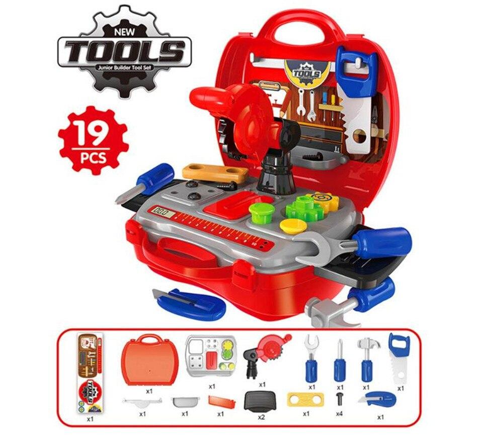 Pretend Spielen Spielzeug Für Kinder Jungen Montessori Werkzeug/make-up Set Oyuncak Junge Speelgoed Juguetes Brinquedo Brinquedos Oyuncaklar