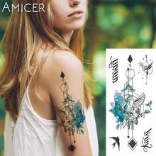 1 kom Fantasy Color Freedom ptica Phoenix Hot Velika životinja Privremena Tattoo vodootporna tetovaža naljepnica za žene muškaraca